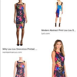 9961b4ce Milly Dresses | New Lou Lou Printed Sheath Dress Small | Poshmark